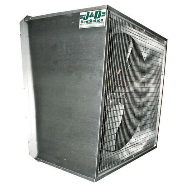 Slanted 24 inch exhaust fan