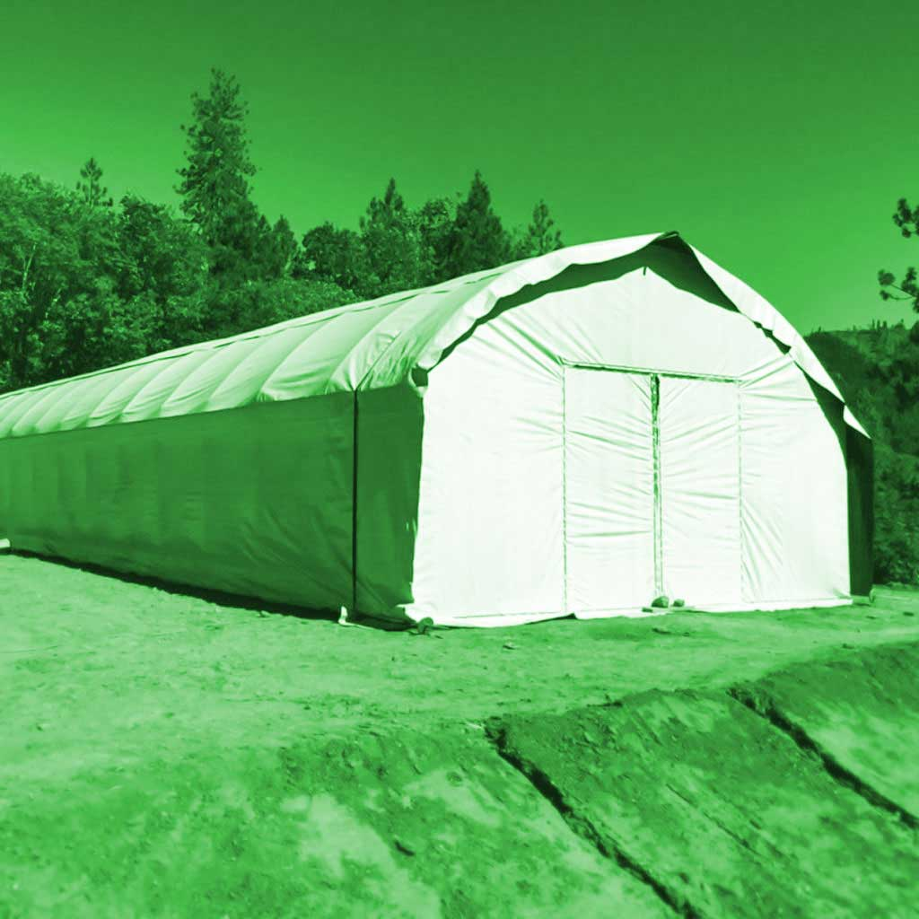 Complete Light Deprivation Greenhouses