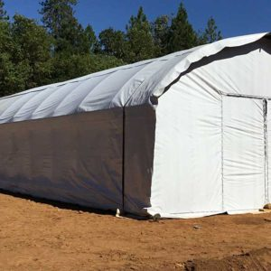 Light deprivation conversion kits for greenhouses