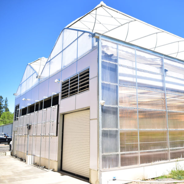 Gutter Connect Greenhouse Exterior