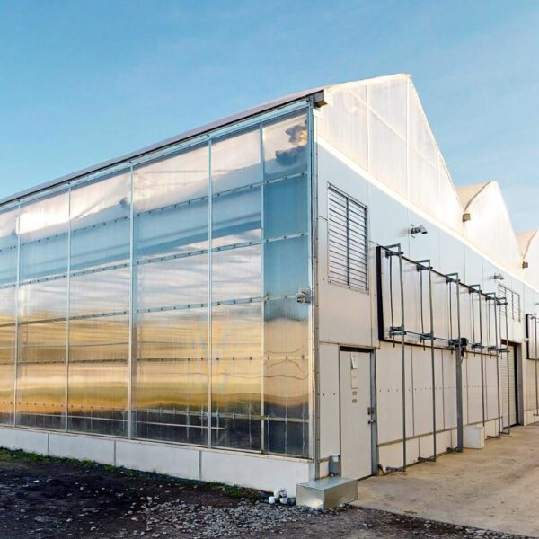 Gutter Connect Interior Light Deprivation Greenhouses